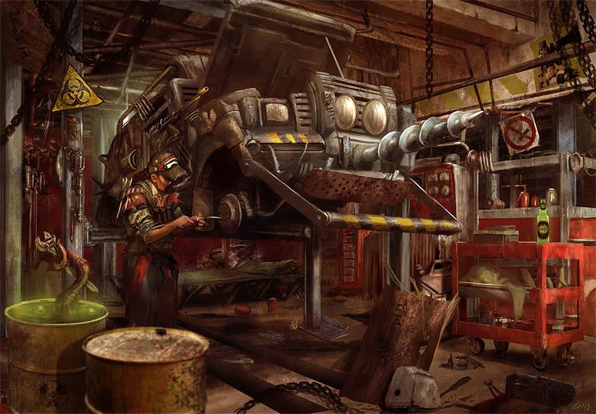 Aces Games - Nameless Land, il gdr Post-apocalittico, Sistema di Gioco