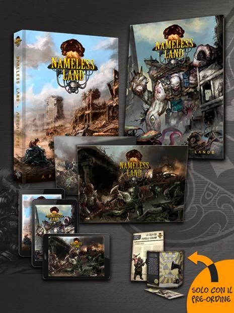 Aces Games - Nameless Land GdR Bundle leggenda del Nuovo Mondo, con schermo e bestiario inclusi