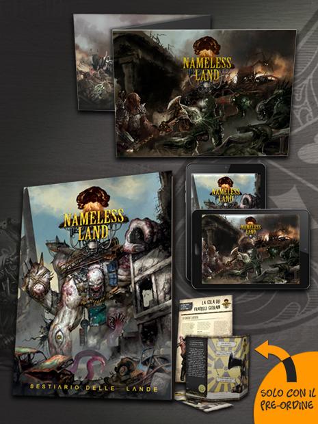 Aces Games - Nameless Land GdR Bundle maestro di sopravvivenza, con schermo e bestiario inclusi