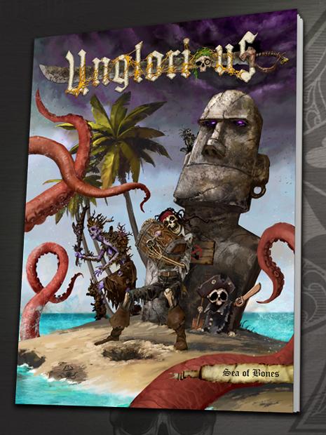 Unglorious GdR Necro-fantasy - Sea of Bones, espansione novità in uscita in pre-ordine a settembre