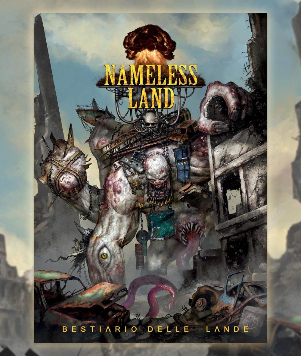 Aces Games - Nameless Land GdR post-apocalittico, cover del bestiario delle lande, espansione in uscita a settembre