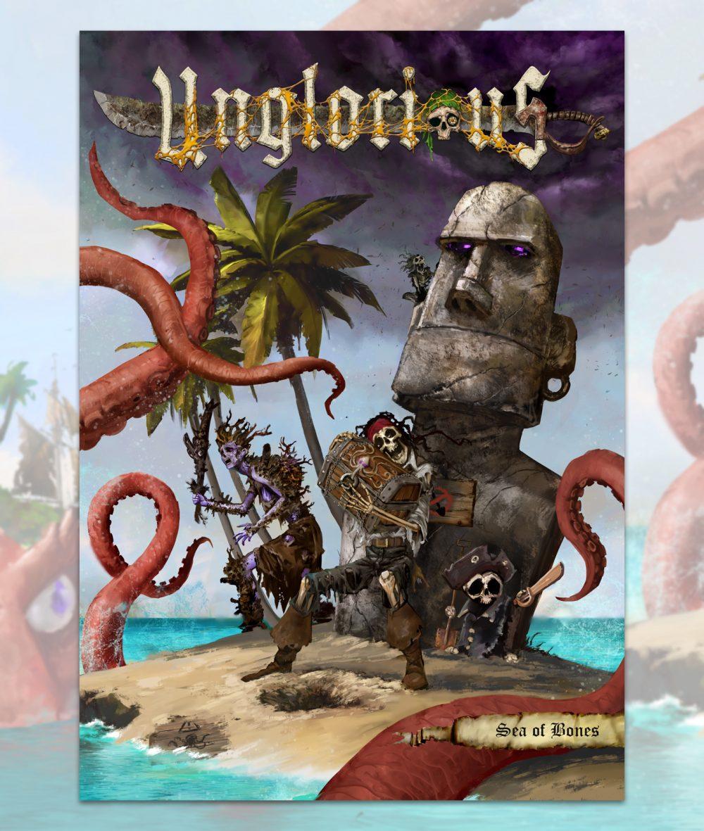 Aces Games - Unglorious GdR necro-fantasy, cover di Sea of Bones espansione in uscita a settembre