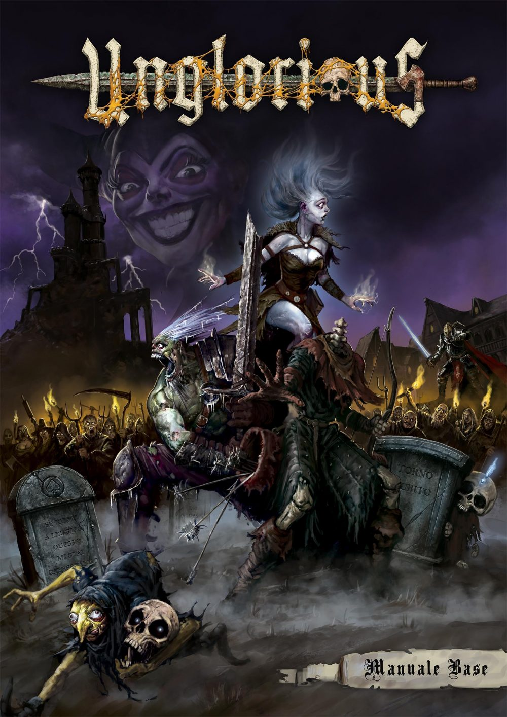 Aces Games - Unglorious GdR necro-fantasy, cover del manuale base