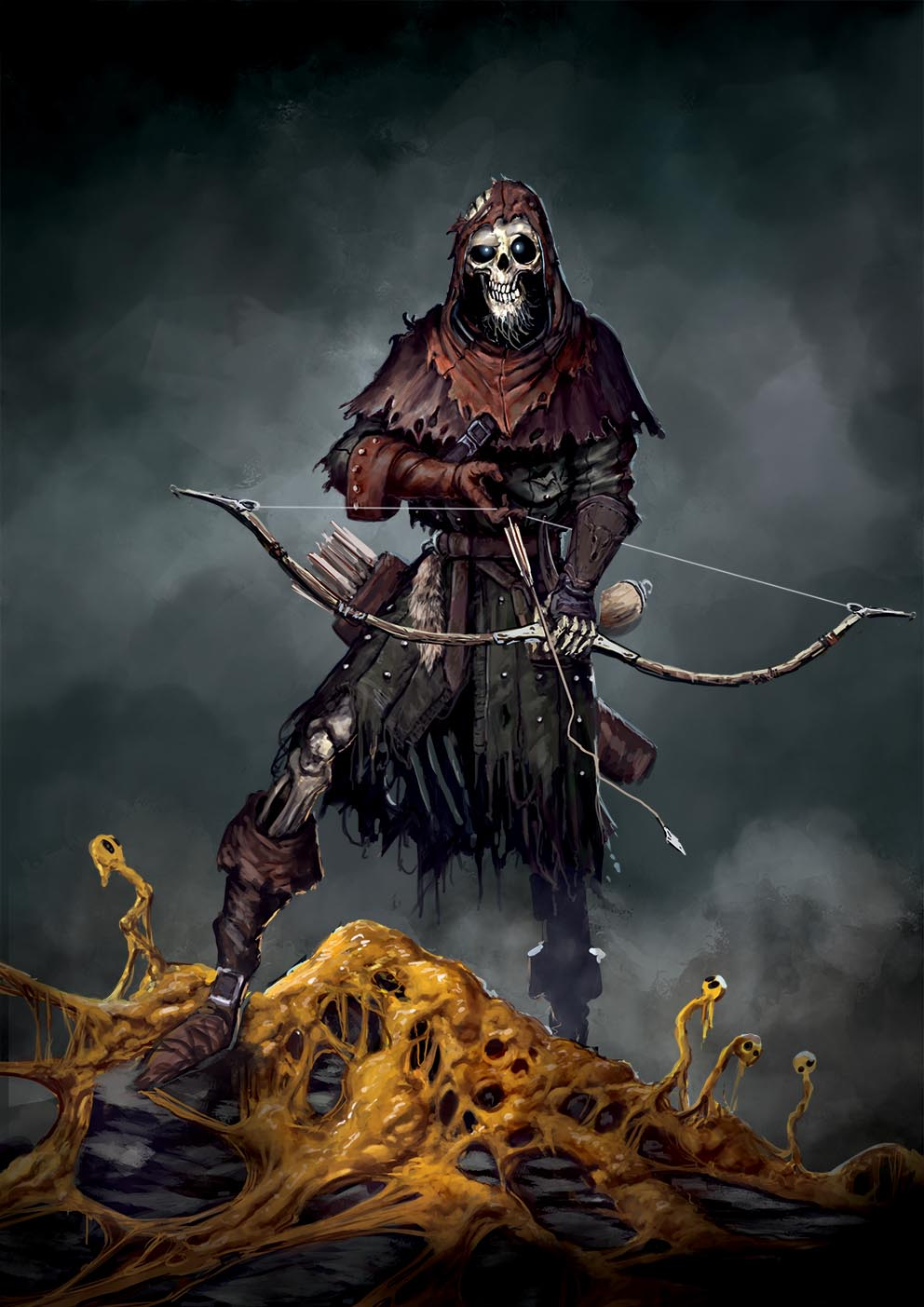Aces Games - Unglorious GdR necro-fantasy, tipi di morto giocabili, secco scheletro